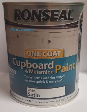 Ronseal cupboard paint 750ml all colours.